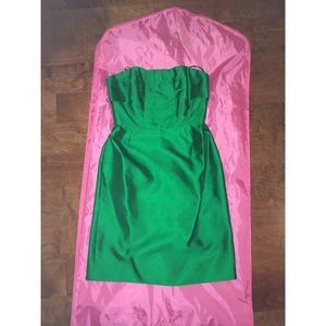 Kate Spade green Darcie dress